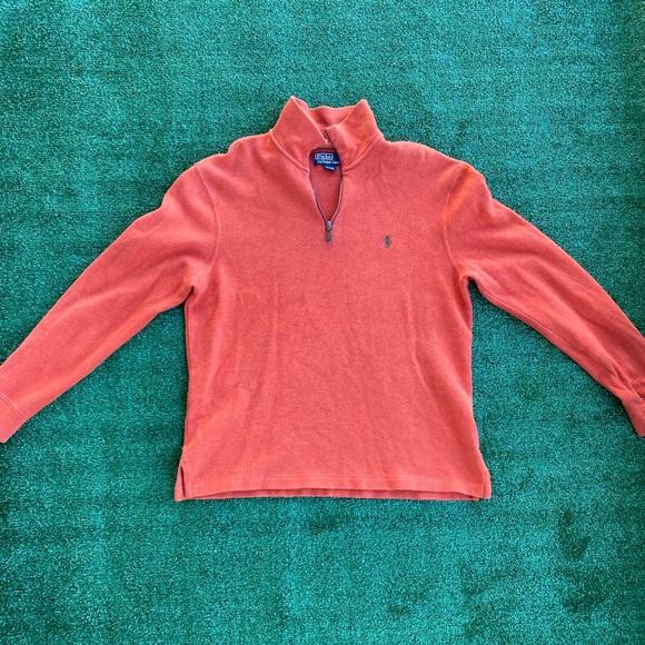 Ralph Lauren Polo Half Zip Sweater